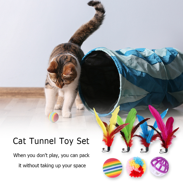 14 Pcs Kitten Tunnel Of Fun!  3