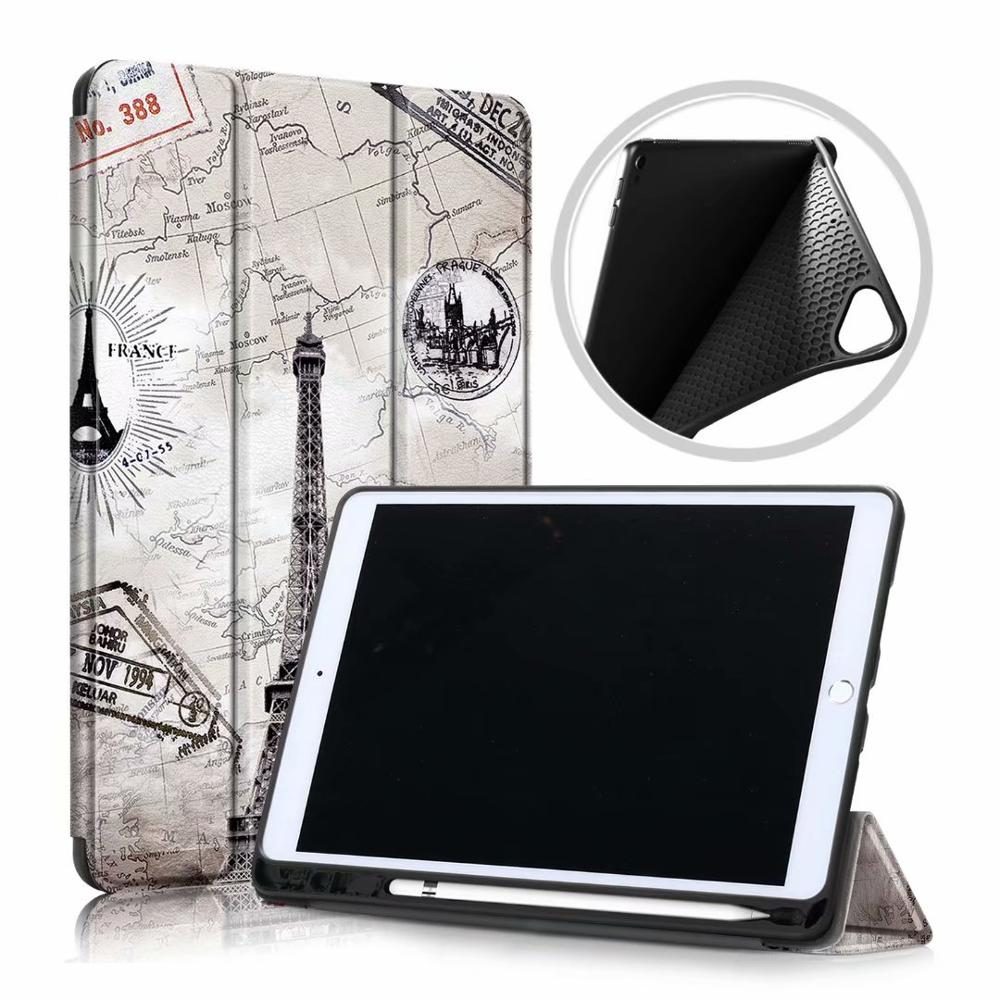 Tower Pink Ultra Slim Coque For iPad 10 2 2019 Case A2200 A2198 A2232 Smart Magnetic Folding Stand