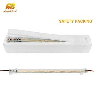 Image 4 - 5 unidades/lote de tubos LED SMD2835, 220V, 72LED, carcasa transparente de color blanco lechoso, 30cm, 50cm, luz de cultivo blanco frío y cálido para iluminación interior