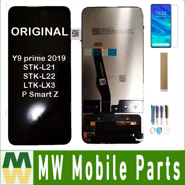D'origine Pour Huawei Y9 premier 2019 STK-L21 STK-L22 LTK-LX3 P Smart Z écran LCD + Écran Tactile Capteur En Verre Numériseur Avec Kit