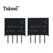 10 قطعة B0512S 1W SIP 4 B0512S SIP4 0512 5V إلى 12V وحدة طاقة معزولة جديدة ومبتكرة