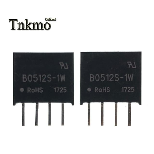 10 Uds B0512S 1W SIP 4 B0512S SIP4 0512 5V a 12V módulo de potencia aislado nuevo y original