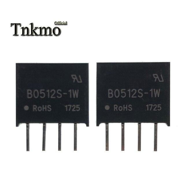 10PCS B0512S 1W SIP 4 B0512S SIP4 0512 5V to 12V Isolated Power Module New and original