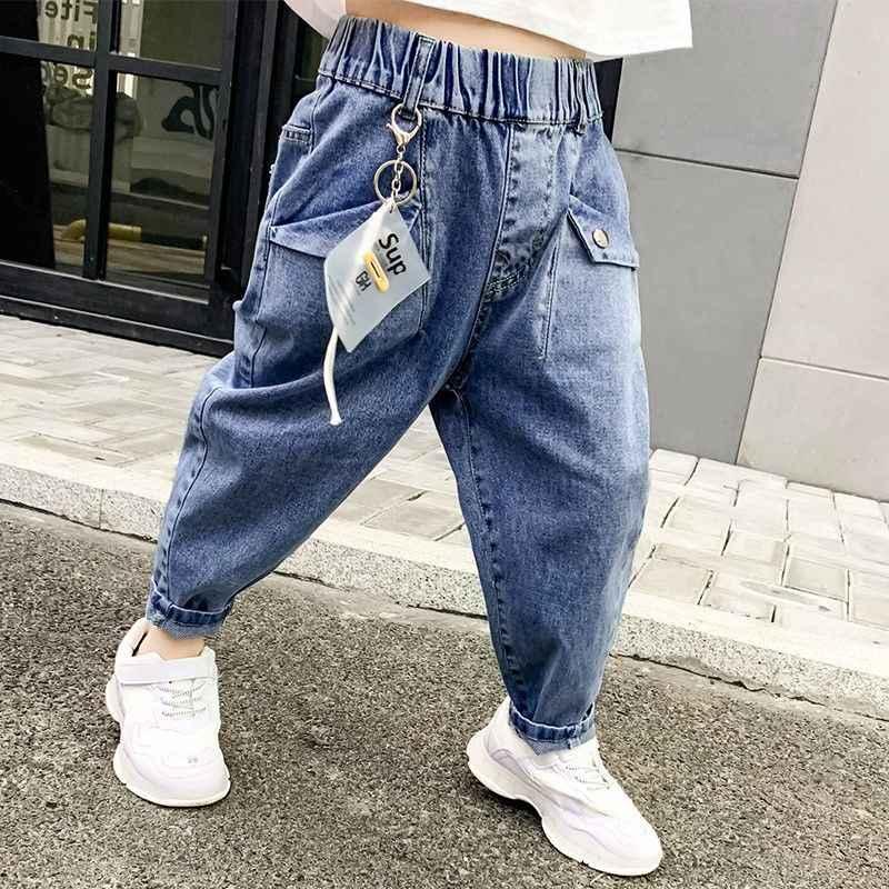 Pantalones Vaqueros Para Ninos Y Ninas Modelos De Otono E Invierno Version Coreana Ademas De Pantalones Gruesos Sueltos De Terciopelo 2020 Pantalones Aliexpress