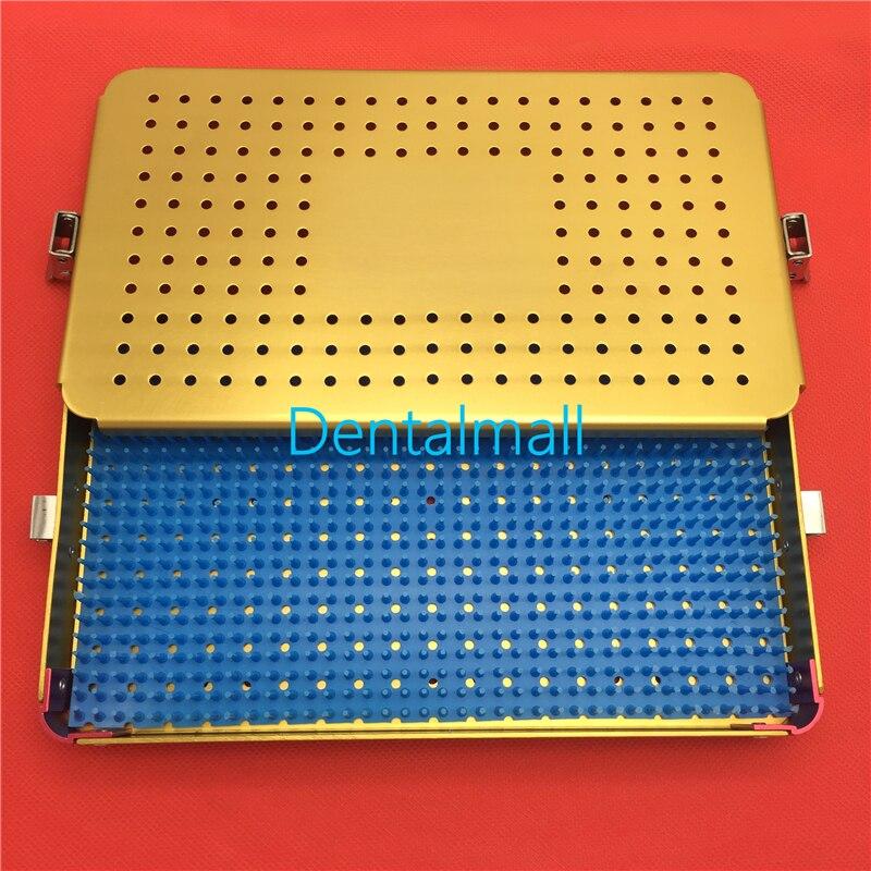 Ophthalmic Orthopaedic Disinfecting Apparatus Aluminum Sterilization Box,Sterilization Medical Box For Dental Sterilization