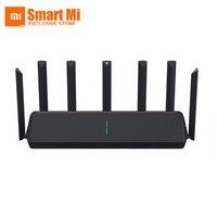 2020 xiaomi aiot roteador ax3600 wifi 6 gigabit taxa 2.4ghz 5g banda dupla 802.11ax a53 cpu 2976mbps 512mb rom controle de aplicativo inteligente