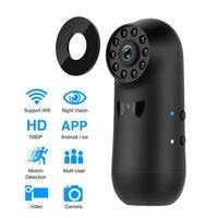 Mini Kamera Wifi Nachtsicht Geheime Kamera Weitwinkel Full HD 1080P Micro Kleine Motion Erkennung Kamera Unterstützung Versteckte TF Karte-in Mini-Camcorder aus Verbraucherelektronik bei