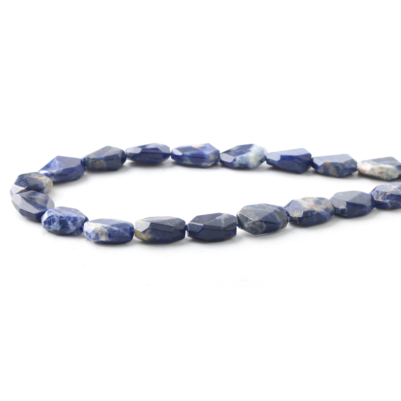 Wholesale Natural Gem Stone AAA+ Grade Lapis Lazuli Flat Square 10*20mm Beads For Jewelry Making DIY Bracelet Necklace