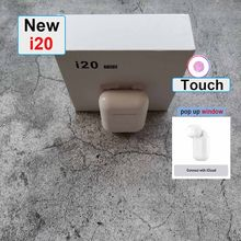 i20 TWS wireless headphones bluetooth 5.0 earphone Mini Earbuds Music Headset pk i10 i30 tws for iPhone xiaomi i30 TWS(China)