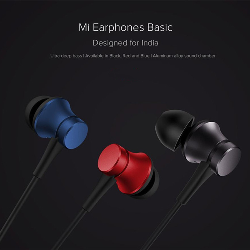 100% Official original xiaomi piston 3 earbuds earphone fresh youth version 3.5mm in-ear headset wire-controlled with Microphone 11