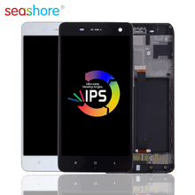 """5.0 """"ORIGINAL Für XIAOMI Mi 4 LCD Touch Screen Digitizer Montage Für Xiaomi Mi4 Display mit Rahmen Ersatz M4 dual Screen"""