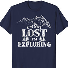 Campings Backpacker Mountain T Shirt Funny Forest Hiker Gift Different Colours High Quality 100% 032544(China)