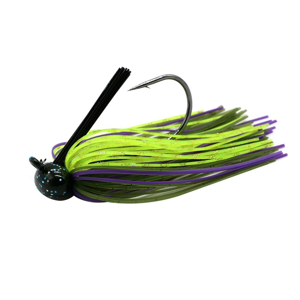 JonStar 1pc  12G/16G Finesse Chatter bait spinnerbait fishing lure wobbler chatterbait for bass pike walleye fishing-3