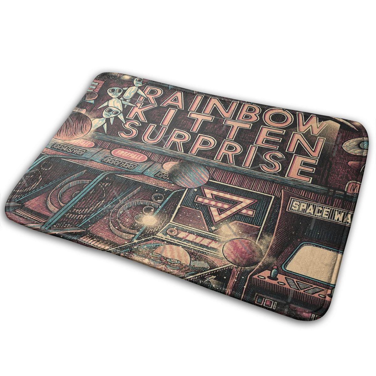 קשת חתלתול הפתעה סיור מוסיקה Alfombra Tapis שטיח שטיח מצלמות שטיח סביב