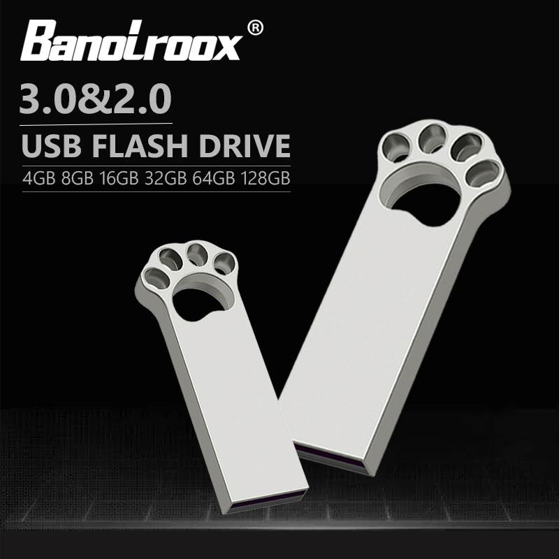 Freeship pen drive usb 2.0 & 3.0, multifuncional, metal, gato, 16gb 32gb 64 pen drive, usb flash memory stick usb disk