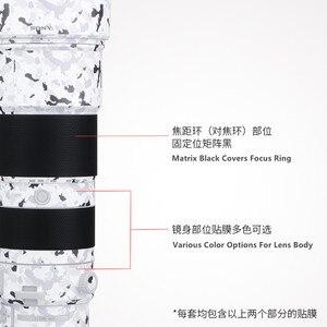 Image 1 - Film denveloppe de décalcomanie de peau de lentille pour Sony FE 200 600 F5.6 6.3 G OSS SEL200600G couverture dautocollant anti rayures