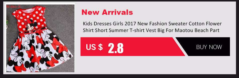 H2eebe91845f64fcd86ad38cdbdc880dec Kids Dresses Girls 2017 New Fashion Sweater Cotton Flower Shirt Short Summer T-shirt Vest Big For Maotou Beach Party Dress