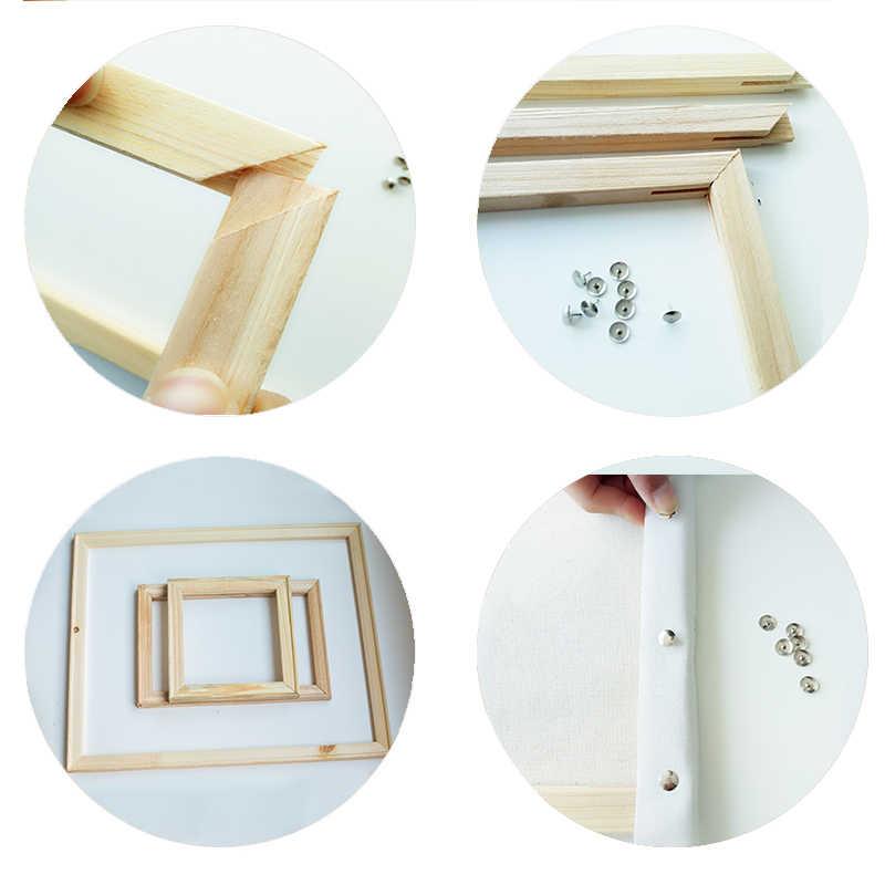 Sdoyuno Bingkai DIY Lukisan Oleh Nomor Kit Maple Daun Anjing Rumah Modern Dinding Seni Gambar Hadiah Yang Unik untuk Ruang Tamu art 40X50 Cm