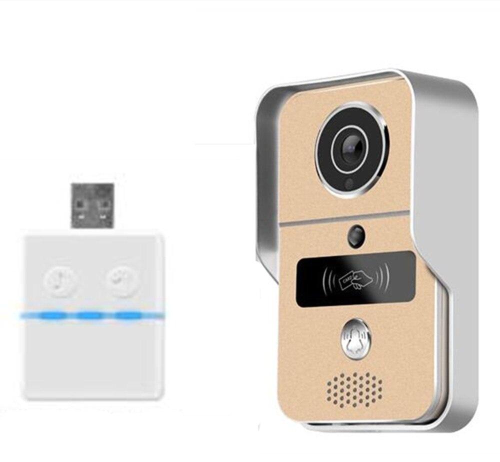2MP 1080P Yoosee  WIFI IP Doorbell ID Card Open Lock Motion Detection Video Door Phone