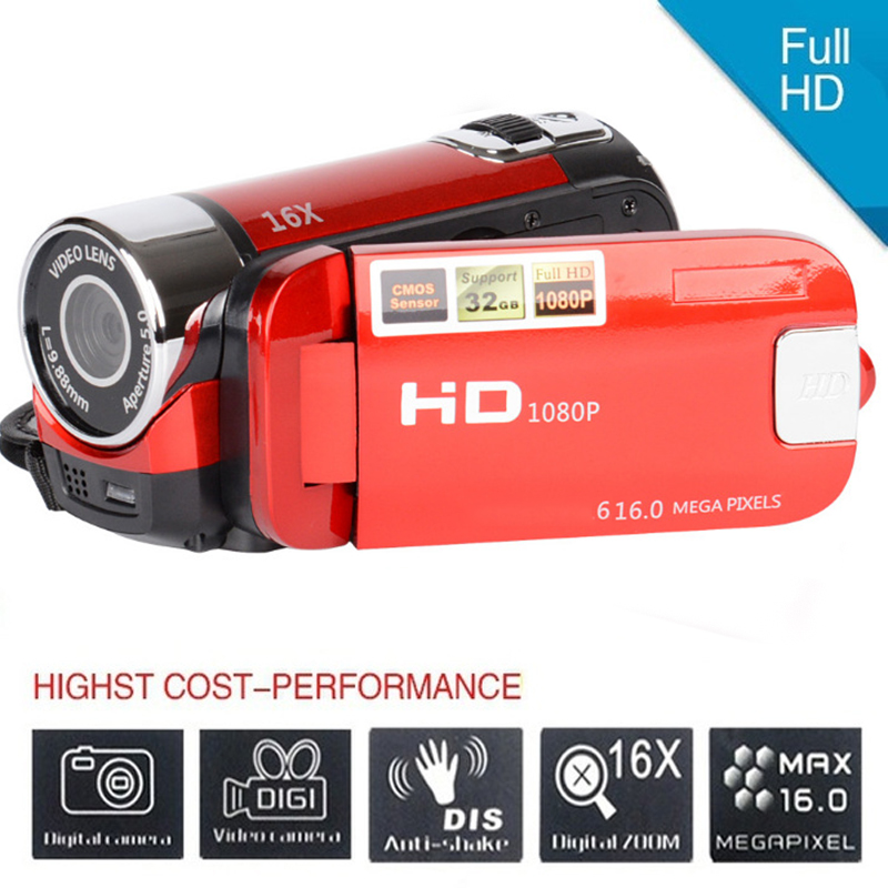 H2eec27be3b5946349db9a358689c277e7 Fast shipping 2.4''LCD DV Camcorder Photography DVR Recorder Digital Zoom USB Fill Light AV Cable Photo Display Digital Camcorde