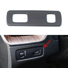 For Volvo XC60 2018 2019 2020 Headlight Lamp Switch Button Decoration Cover Interior Accessories