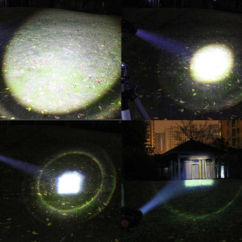 TMWT Bóng Chày Màu Đỏ Bat LED Đèn Pin AA Pin 800 Lumens Siêu Sáng Dùi Cui Torch cho Trường Hợp Khẩn Cấp Tự Vệ
