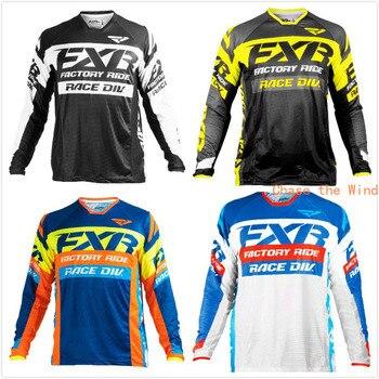 Downhill Jersey Motocross Men's Fox MTB MX Quick Dry Long Sleeve FXR 1