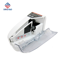 Bill Counter Cash Banknote-Paper V30 Mini with Battery/Plug Handy for Currency-Counting