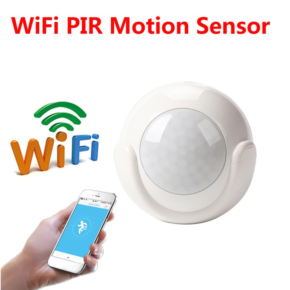 Sensitive Human Body Sensors Smart APP Voice Control Wireless Passive Infrared Detector Home Security Burglar Alarm
