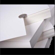 50pcs/lot A4  White Kraft Paper DIY Card Making Craft Thick Paperboard Cardboard