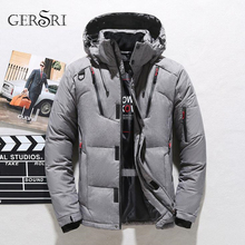 Men jacket high quality down cotton thick coat Snow parkas men warm brand clothing winter Windbreaker male