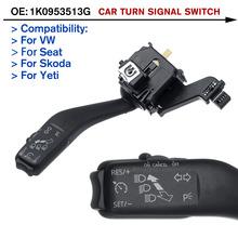 Włącznik świateł samochodowych włącznik do kierunkowskazów 1K0953513G do VW Jetta do golfa 5 6 MK6 VI do Jetta Plus GTI MK5 do Skoda tanie tanio Autoleader CN (pochodzenie) other Przycisk Przełącznika