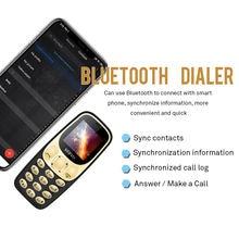 "Original phone SERVO M27 1.44"" Ultra-thin mini Telephone Dual Sim bluetooth Dialer magic voice one key recorder Russian language"