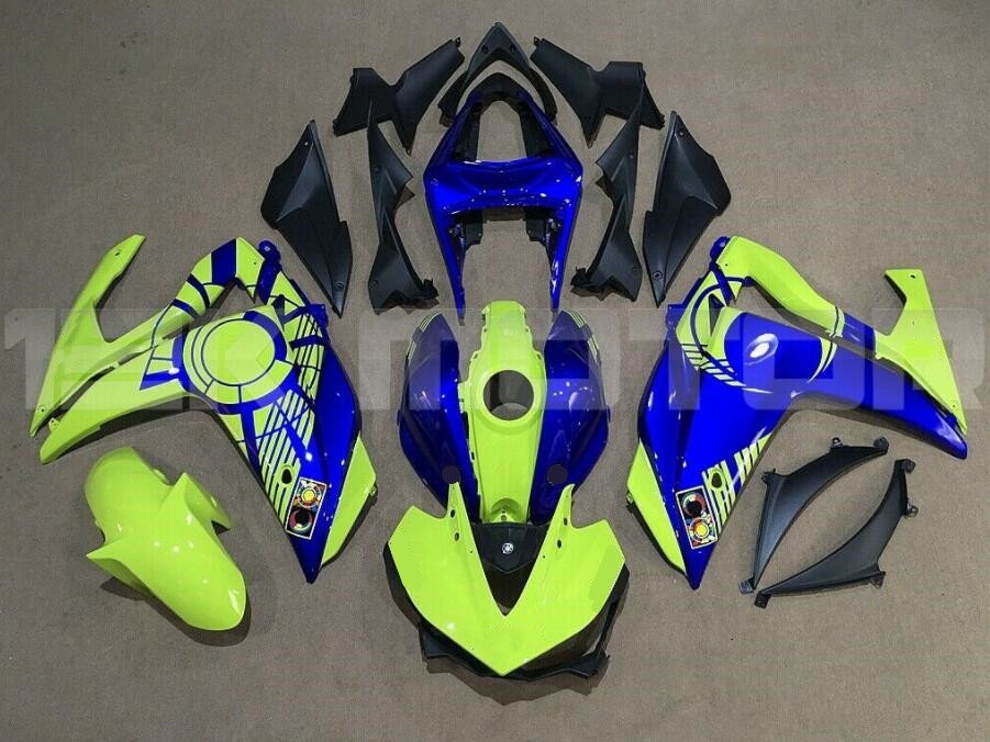 Injection ABS Fairing Bodywork Panel Kit Set Fit for Yamaha YZF R3 R25 2013-2017