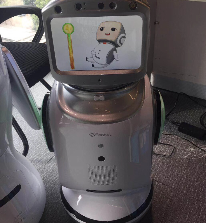 Smart robot can program dialogue voice video chat monitoring accompanying robot 4