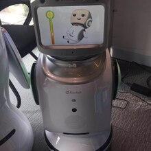 Умный коммерческий или домашний робот безопасности Может программировать голосовой видео чат мониторинг сопутствующий робот