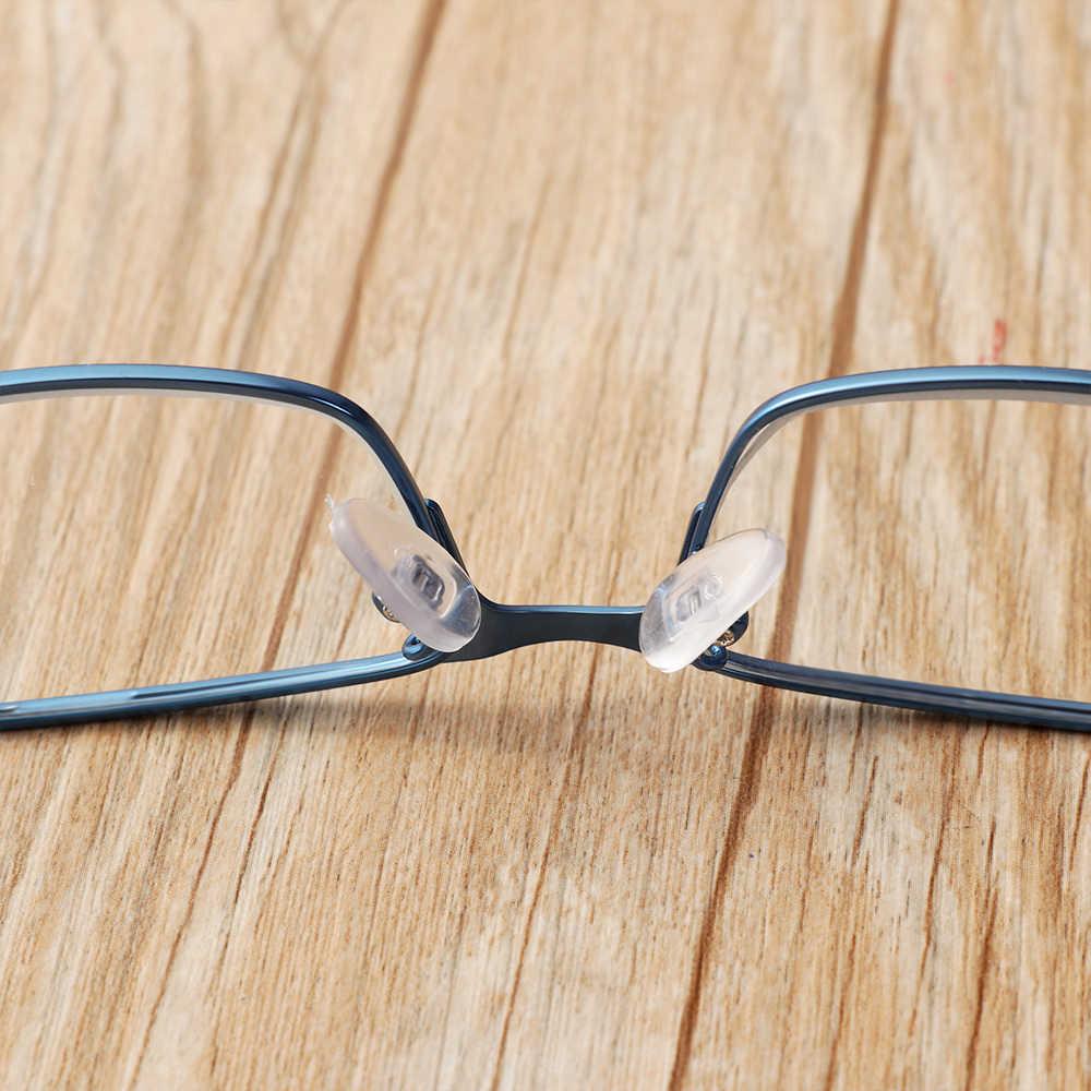 العصرية الرجال الأعمال نظارات للقراءة سبائك التيتانيوم إطار خفيف جدا الراتنج العين ارتداء قصر النظر الشيخوخي وصفة طبية نظارات