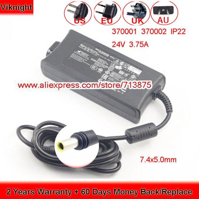 Echte 24V 3,75 A 90W IP22 AC Adapter für ResMed Luft Gefühl S10 370001 370002 37015 DA90A24 R370 7232 netzteil