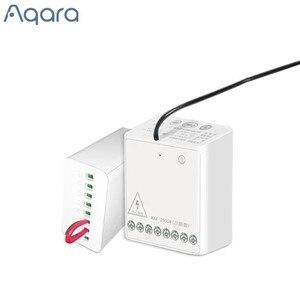 Image 1 - Aqara Módulo de dos vías, controlador inalámbrico de Motor de CA de doble canales para casa inteligente, nuevo
