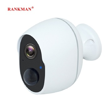 RANKMAN WiFi Camera Low-power Rechargeabl Battery Wireless Security IP Camera Surveillance Waterproof Outdoor Indoor Shop Car image