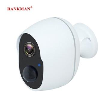 RANKMAN WiFi Camera Low-power Rechargeabl Battery Wireless Security IP Surveillance Waterproof Outdoor Indoor Shop Car - discount item  31% OFF Video Surveillance
