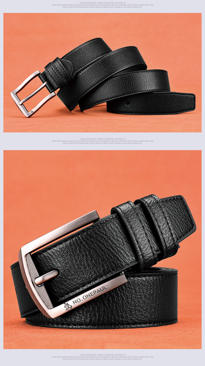 H2eedd16b3f4a4d87b5ddcd8d65c7e6a9H - NO.ONEPAUL cow genuine leather luxury strap male belts for men new fashion classice vintage pin buckle men belt High Quality