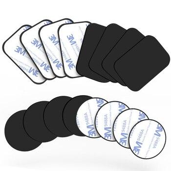 Металлический диск, для автомобильного магнитного держателя для телефонов, пластина, железный лист для подставки для телефона, крепление, 5 ...