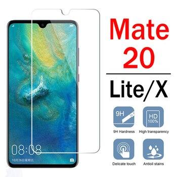 Перейти на Алиэкспресс и купить Матовое 20 Защитное стекло для huawei mate20 lite Light X защитная пленка для экрана на Hwawei 20X 20Lite огни закаленное стекло Броня пленка