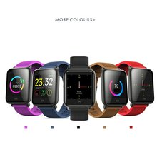 цены Q9 Smart Bracelet Heart Rate Monitor Waterproof Fitness Tracker Bluetooth Watch Band For Android IOS women men Wristband