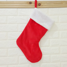 Christmas Stockings  Hanging Gift Bags Home Decor Xmas Tree Decorations Stocking New Year Decoration