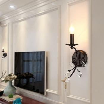 modern  led wall light wall lights wood aisle  living room  dining room luminaria de parede
