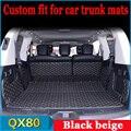 ZHAOYANHU индивидуальные автомобильные коврики багажника для Infiniti QX80 стайлинга ковров коврики