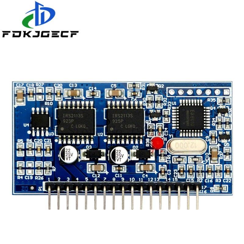 Инвертор немодулированного синусоидального сигнала 5 В, плата драйвера SPWM EGS002, 12 МГц, кварцевый генератор EG8010 + модуль вождения IR2113