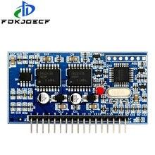 5v DC-AC puro onda senoidal inversor spwm placa de motorista egs002 12mhz cristal oscilador eg8010 + ir2113 módulo condução
